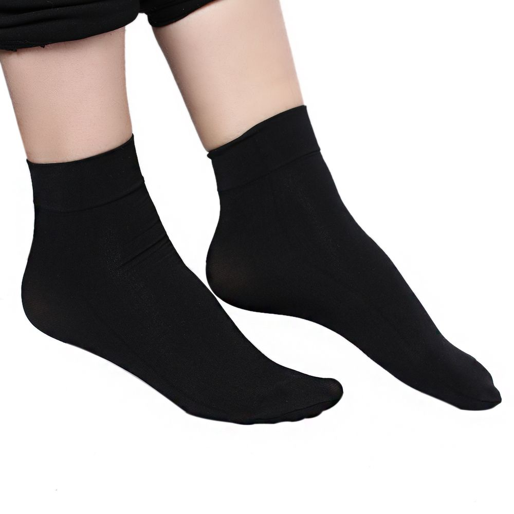 5266fb89dab Detail Feedback Questions about 1Pairs New Popular Fashion Women Ladies  Autumn Winter Girls Sexy Thick Silk Wide Mouth Elastic Nylon Ankle Socks  Hot Sale on ...