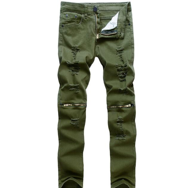Full Length Spring Styles Men Jeans On Hot Sales Discount Male Pants