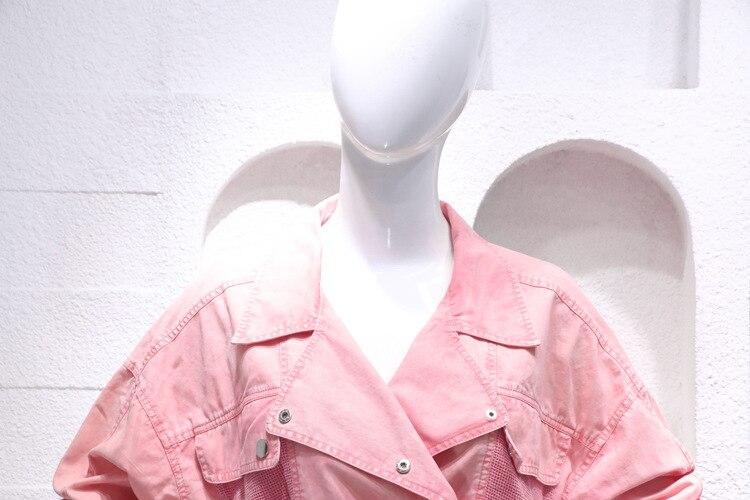 SuperAen mody Denim damskie zestawy lato nowy 2019 Casual Denim topy jednolity kolor wysokiej talii spodnie szerokie nogawki spodenki dwa kawałki w Zestawy damskie od Odzież damska na  Grupa 3