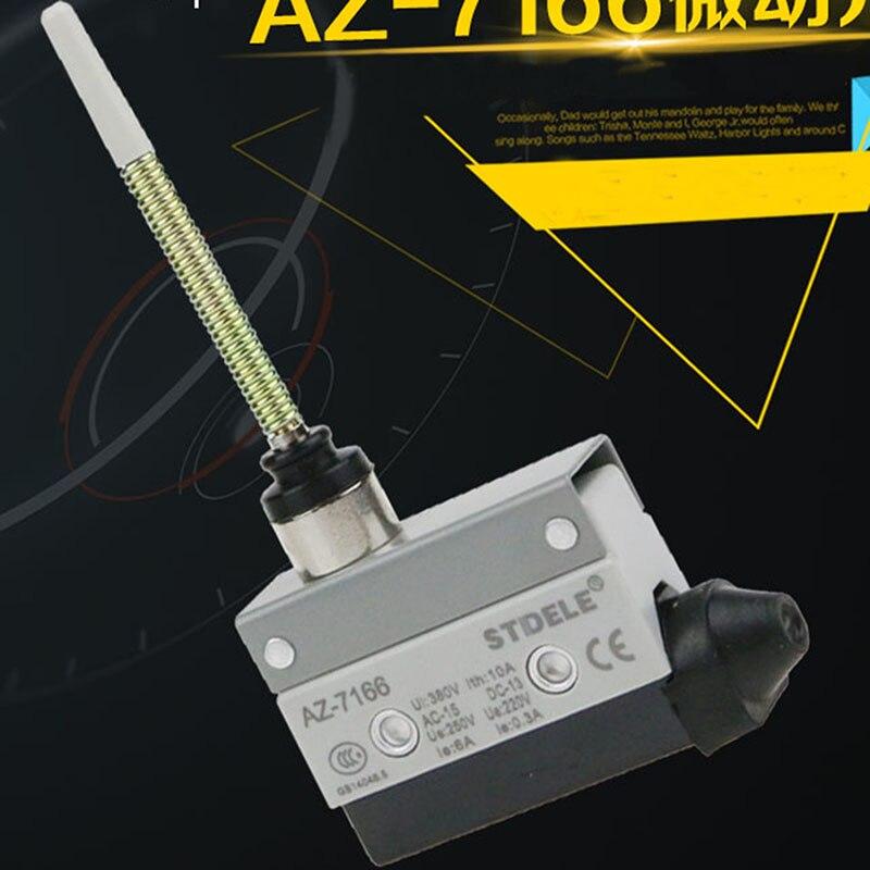 все цены на  Micro Limit Switch AZ7166 Waterproof Horizontal Type Travel Switch Universal Switch  онлайн