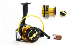 Fishing reel KB 12BB Spinning Fishing Reel Carp Ice Fishing Gear 5.1:1 Real Pesca baitcasting wheel