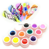#40267 free hot sale 3d gemstone uv gel,diamond uv gel kit, jelly color gel, glass uv gel