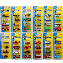 Ant 1:64 Fire Truck School Bus Car Sports Ambulance Alloy Model Door Toy Boy Child and Gift