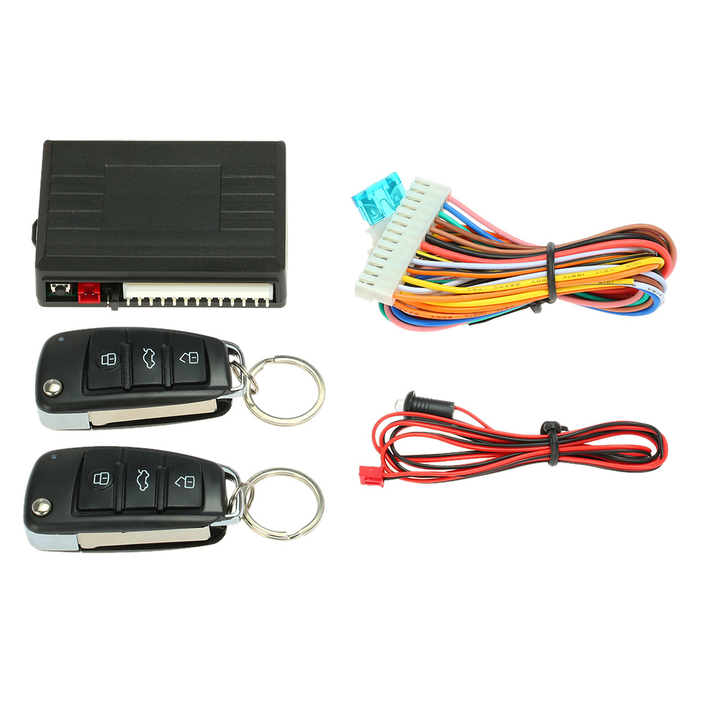 Universal Car Door Lock System Remote Central Control Locking Kit with Trunk Release Button KKmoon Keyless Entry System