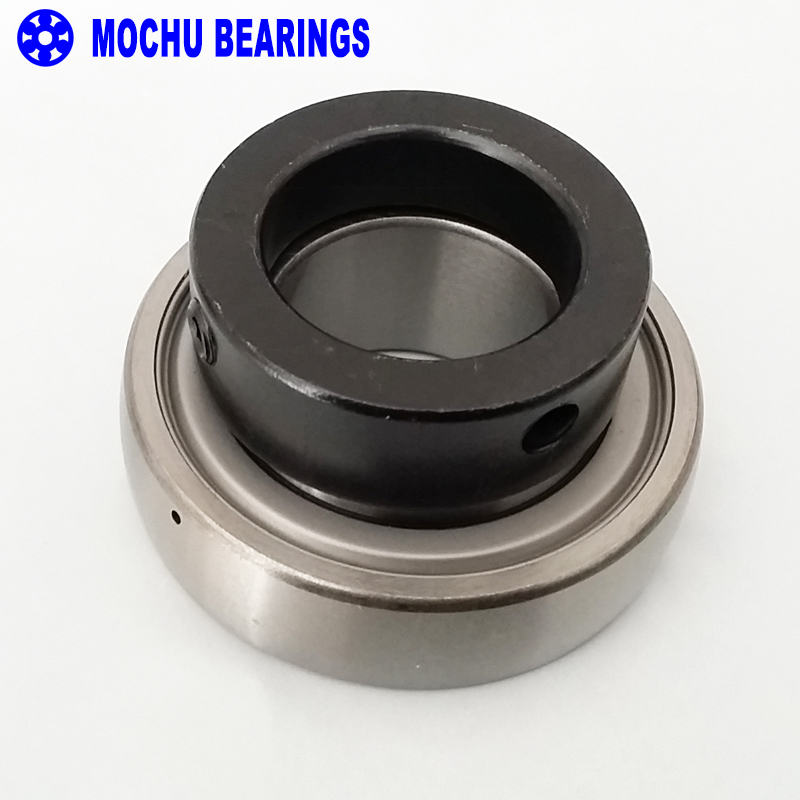 1pcs RAE50-NPP-B 50 MOCHU Radial insert ball bearings Spherical outer ring Location by eccentric locking collar Seals on both