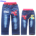 Big Hero 6 Baymax Jeans Baby Boys Girls Children Cartoon Casual Trousers Spring & Autumn Pants For 3-8 Year