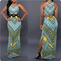 Summer-Dress-2016-New-Maxi-Dress-Lolita-Women-Shirts-Boho-Print-Long-Dress-Casual-Bandage-Floral