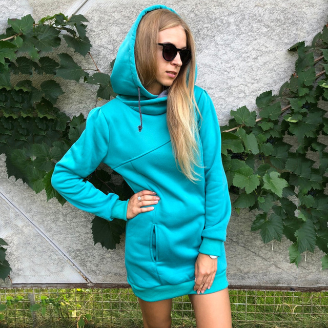 Sisjuly women hoodie sweatshirt solid hooded long sleeve pullover hoodies drawstring plus size 4XL fashion female spring hoodie