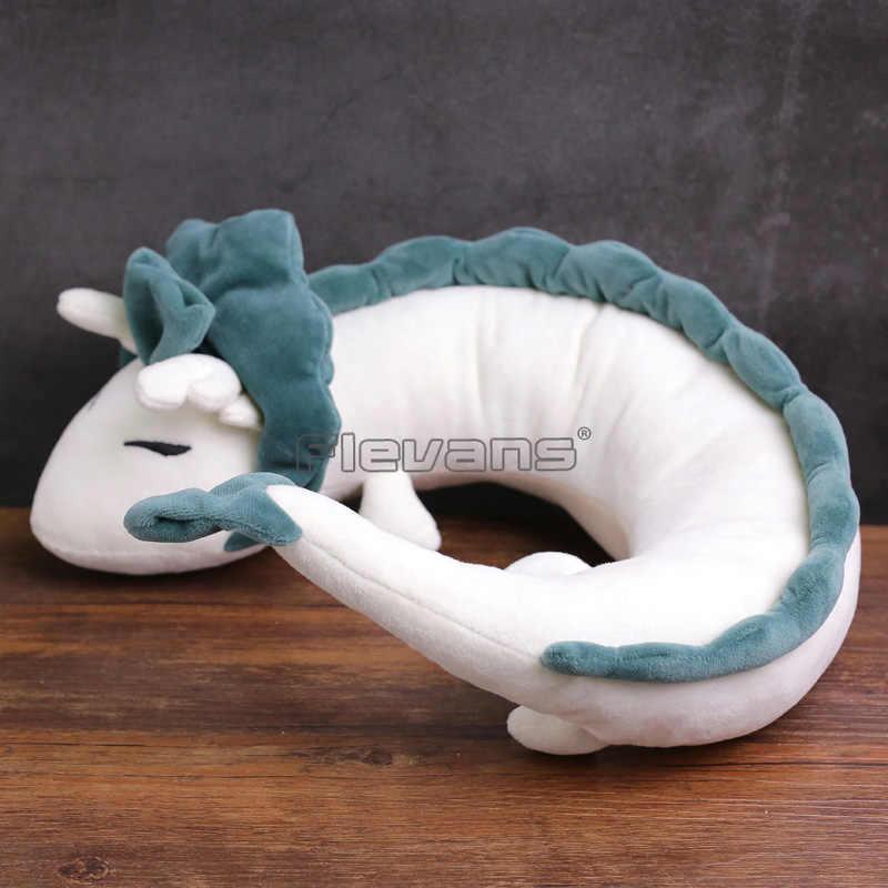 A viagem de Chihiro Haku Dragão Branco Plush Soft Toy Stuffed Boneca