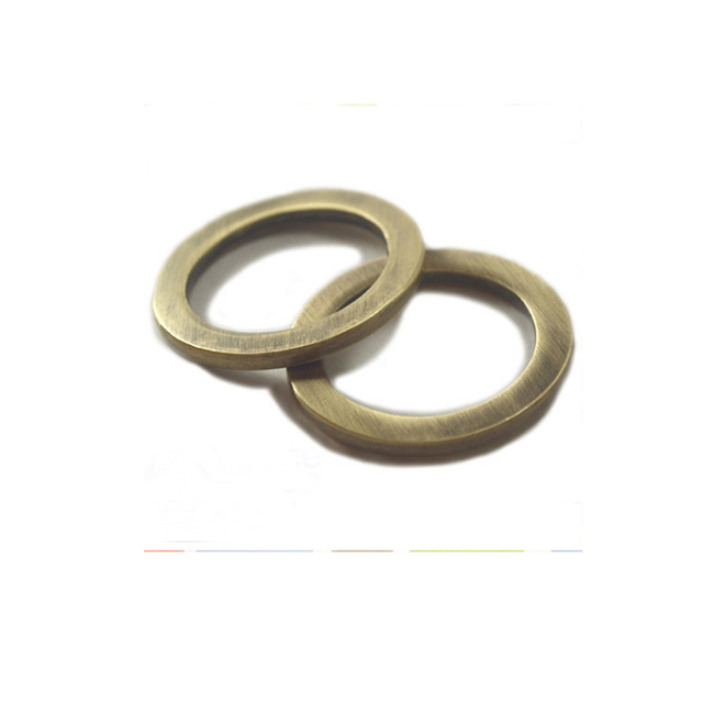 1 Inch Flat Cast O Rings, Antique Brass Bronze Finish-in Bag Parts ...