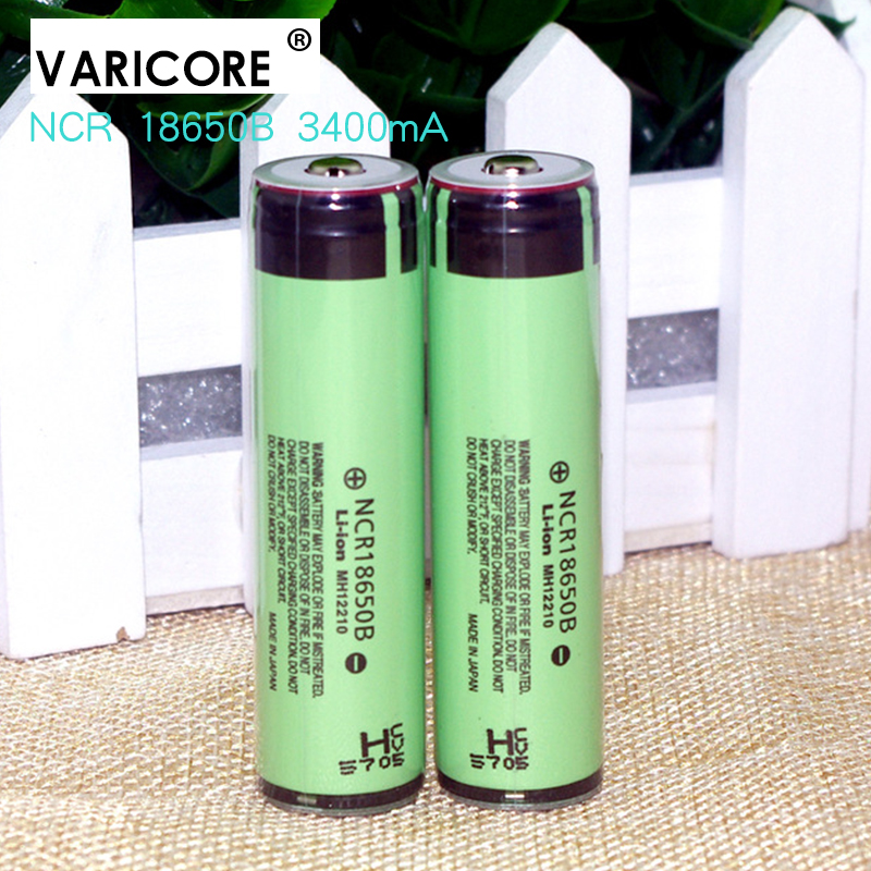 2 pcs 100% original new <font><b>18650</b></font> <font><b>3400</b></font> <font><b>MAH</b></font> Li ion <font><b>battery</b></font> + rechargebale 3.7 V <font><b>battery</b></font> protective plate+Free delivery
