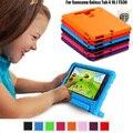 Crianças à prova de choque de silicone caso capa para o samsung galaxy tab 4 10.1 polegadas t530 tablet bolsa perfeita proteção segura