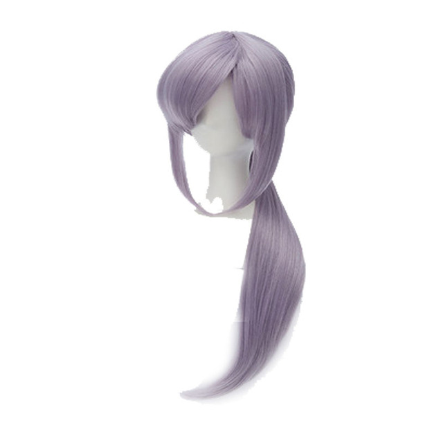 Your Style Long Straight Fake Hair Ponytails Light Purple Cosplay Wigs Women  Party Costume Synthetic High Temperature Fiber 675758aeb