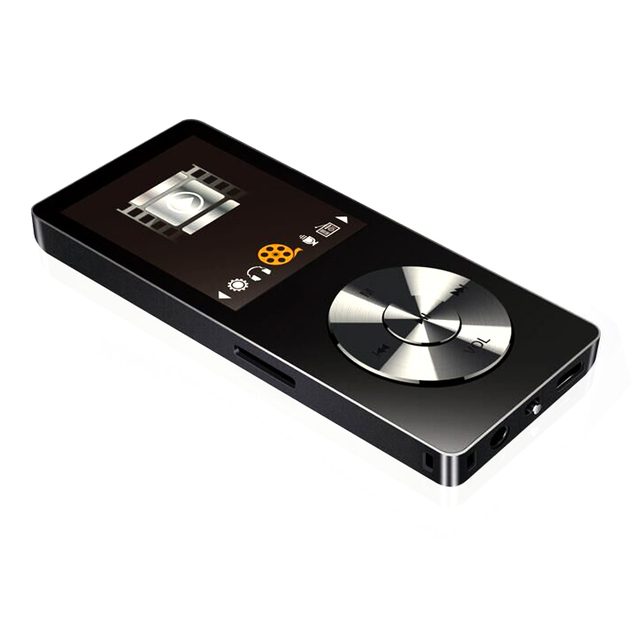 portable metal mp3 player Built-in Speakers e-book fm radio clock audio recorder flac lossless hifi sports music video player 1