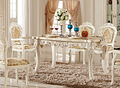 luxury italian style dining table set