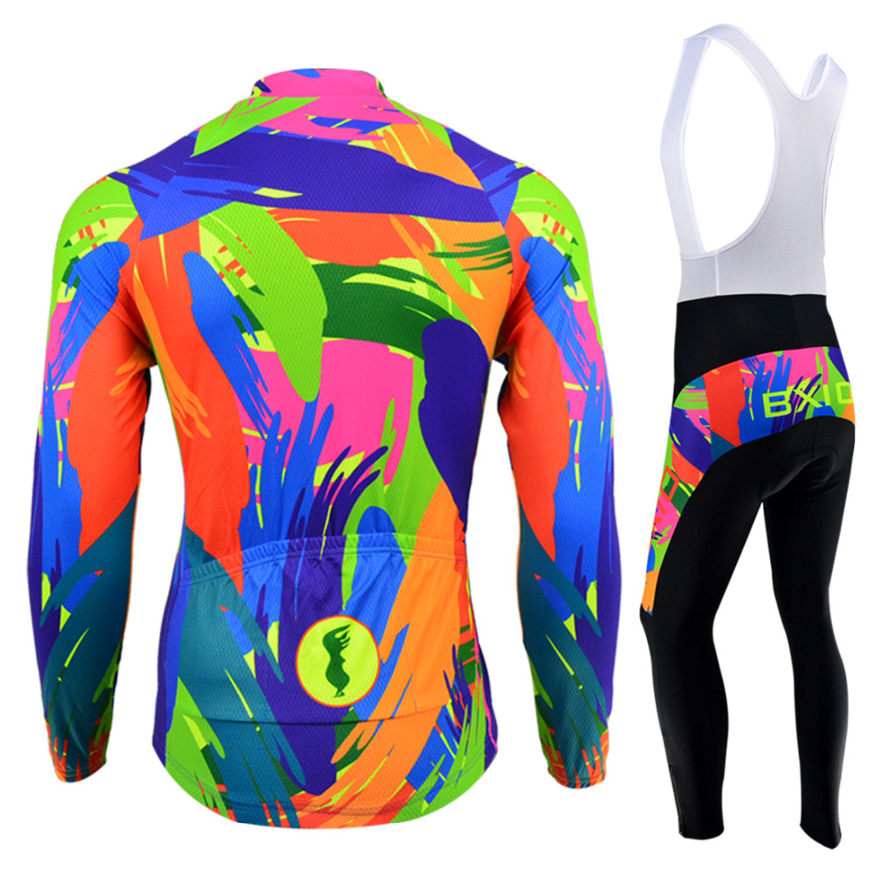 BXIO Pro Cycling Jersey Winter Thermal FleeceBicicleta Ropa Ciclismo Invierno Bike Mtb Women Cycling Sets Clothing Bicycle 122-in Cycling Sets from Sports & Entertainment    2