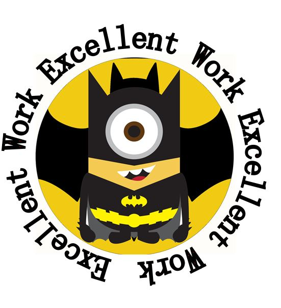 35 round minion batman superman ironman 35 mm teacher rewards stickers for student project kid