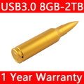 Metal Pen Drive Bullet Usb Stick 3.0 Mini Usb Flash Drive 128GB 16GB 32GB 64GB Pendrive Flash Card Disk Key Memory Stick 512GB