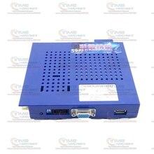 Caja de juegos clásica elfo 750 en 1, para CGA y monitor LCD VGA, armario de Máquina de juego de salón recreativo horizontal, 10 Uds.
