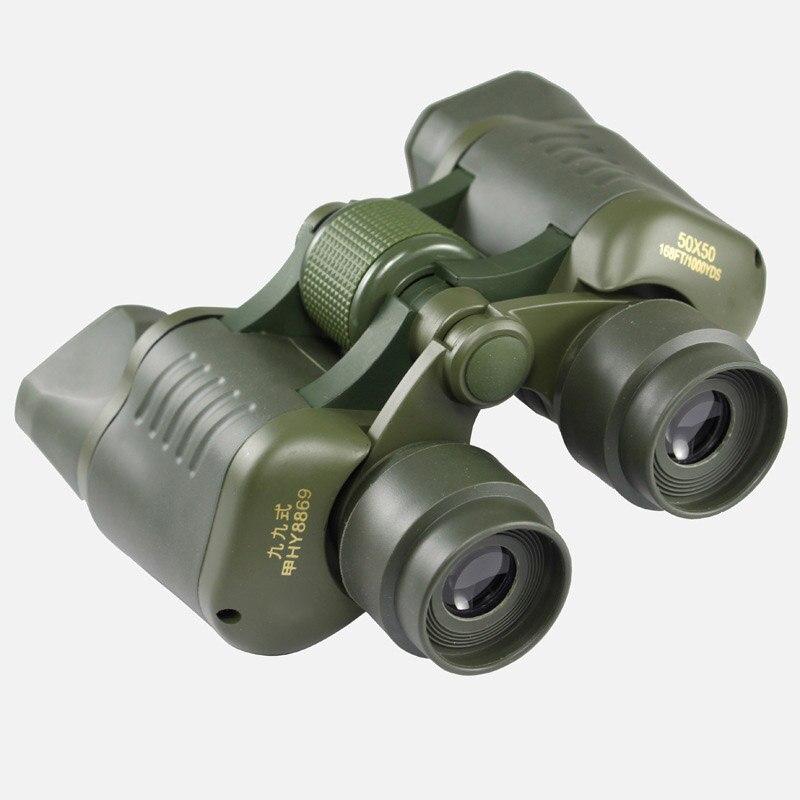 50x50 jumelles haute puissance HD grand oculaire en métal oiseau observation télescope pour la chasse en plein air longue portée nouveau