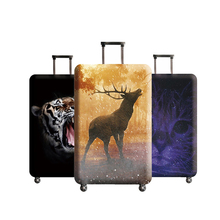 SEREQI new travel thickening stretch giraffe trunk lid suitable for 18-32 inch luggage suitcase dust cover travel accessories