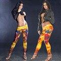 Moda 3D Águila Batman Guerrero Culturismo Impreso Leggings de Baile Gimnasio Polainas de Las Mujeres 2016 de la Marca de Ropa Punk Rock Pantalones