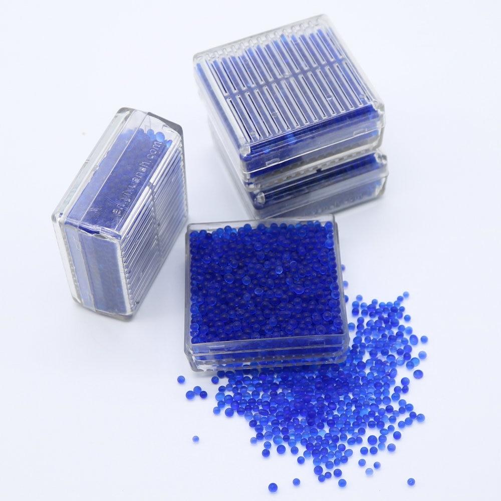 f0745c2b6 4 PCS Caixa Azul Silica Gel Dessecante Reutilizável Silica Gel Dessecante  Umidade Umidade Absorvente De Sílica Gel Absorvente Caixa de Cor mudando em  ...