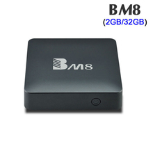 BM8 Amlogic S905X Android 6.0 TV Box 2GB/32GB Support 2.4Ghz &5Ghz Dual WiFi BT4.0 H.265 preinstalled 4K Media player