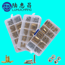 200Pcs/set M2.5/M3 Hex Nut Spacing Screw Brass Threaded Pillar PCB Motherboard Standoff Spacer Kit Wood Bolt Set