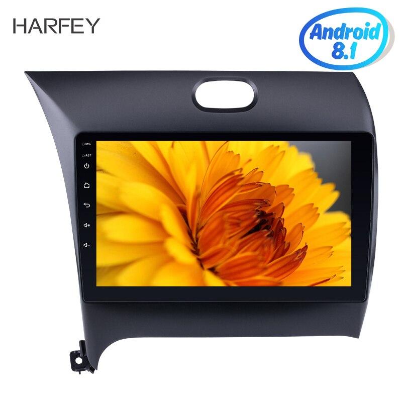 Harfey 9 Pouces HD 1024*600 Android 8.1/7.1 Voiture radio gps lecteur multimédia Pour 2013-2016 KIA K3 avec écran tactile