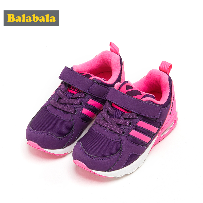 balabala Children Shoes Sport Breathable Boys winter Sneakers Brand Kids air cushion Shoes for Girls Casual Child Flat Boots kids shoes girls boys pu leather lace up high children sneakers girl baby shoes sport autumn winter children shoes