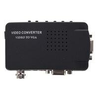 BNC S Video VGA CCTV Camera DVD DVR To VGA Converter 800 600 1920 1200