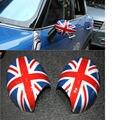 PVC Espelho Retrovisor Auto Acessórios Para Mini Cooper Clubman Countryman Frente Net Decoração Do Projeto Do Emblema Car Styling