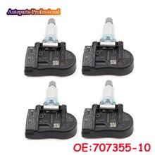 4 pcs/lot 707355-10 70735510 707355 10 36106881890 36106856209 6855539 Fit For BMW 433Mhz TPMS Tire Pressure Sensor Car