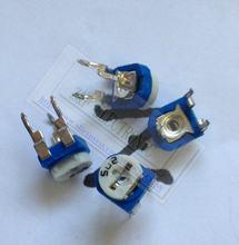 RM065-502 5 k OHM potenciômetro resistor ajustável Horizontal RM-065 502 5 WH06-2 1kohm Trimpot Potenciômetro 500 pçs/lote
