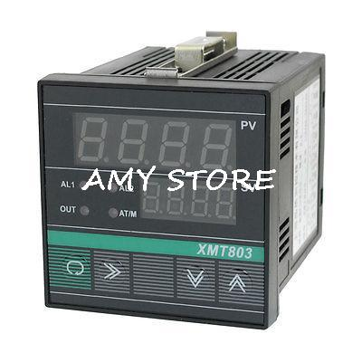 XMT-803 SSR Output PV SV Display PID Digital Temperature Controller Meter free shipping relay digital pv sv display temperature control meter 0 400c ac220v 50 60hz