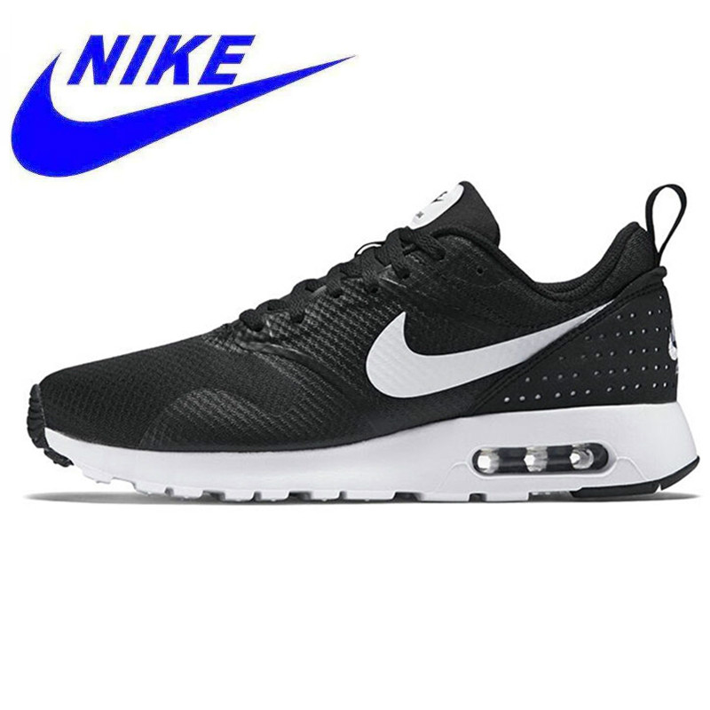 new arrival 08cdc 3d4e1 Original Nike AIR MAX TAVAS Men s Running Shoes,Sports Outdoor Sneakers  Shoes, Black,