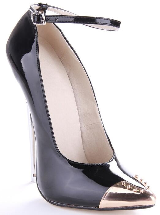 Carpaton New Ladies pointed toe shallow super high heel shoes sexy T-stage catwalk photo shoes black red and royal blue colors
