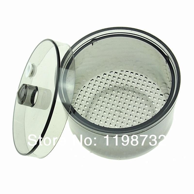 Dental Lab Apparatuur Autoclaveerbaar Steriliseren Doos Soak Desinfectie Cup Netto Baskethoes Tandarts Materiaal Grijs Gratis verzending