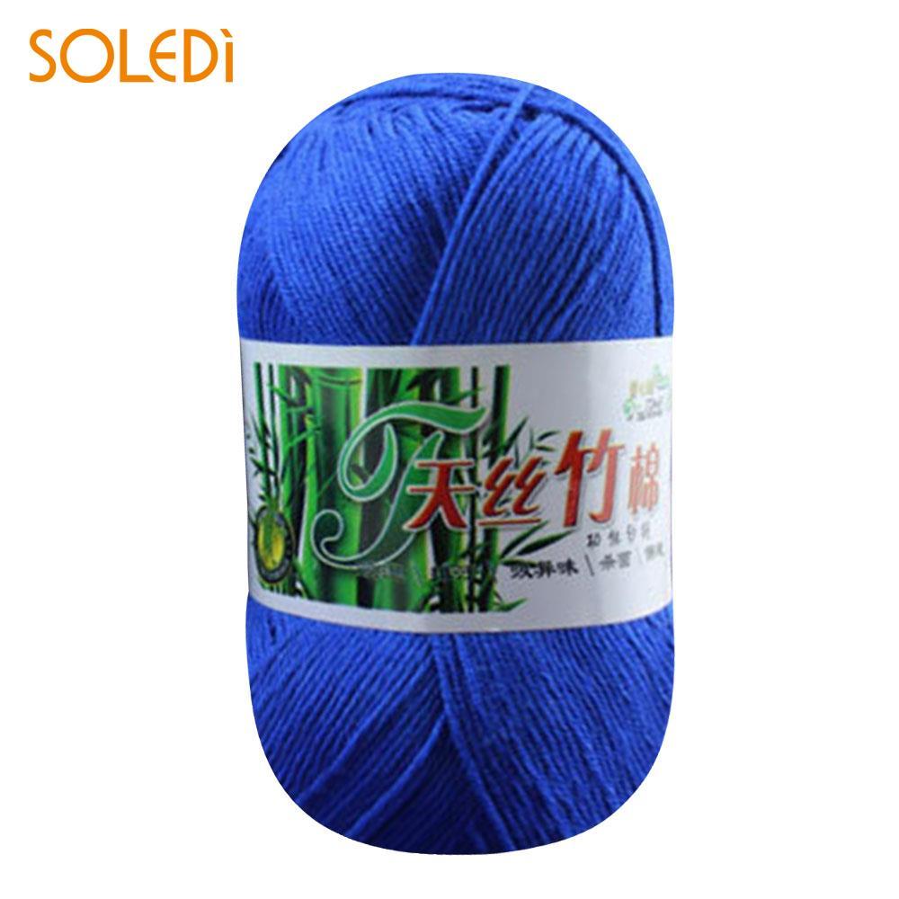 Soft Yarn Worsted Weaving Knitting 50g Scarf Glove