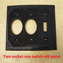 Old Switch Panel Two Position Switch Socket Cover 114*114 Series Socket Panel