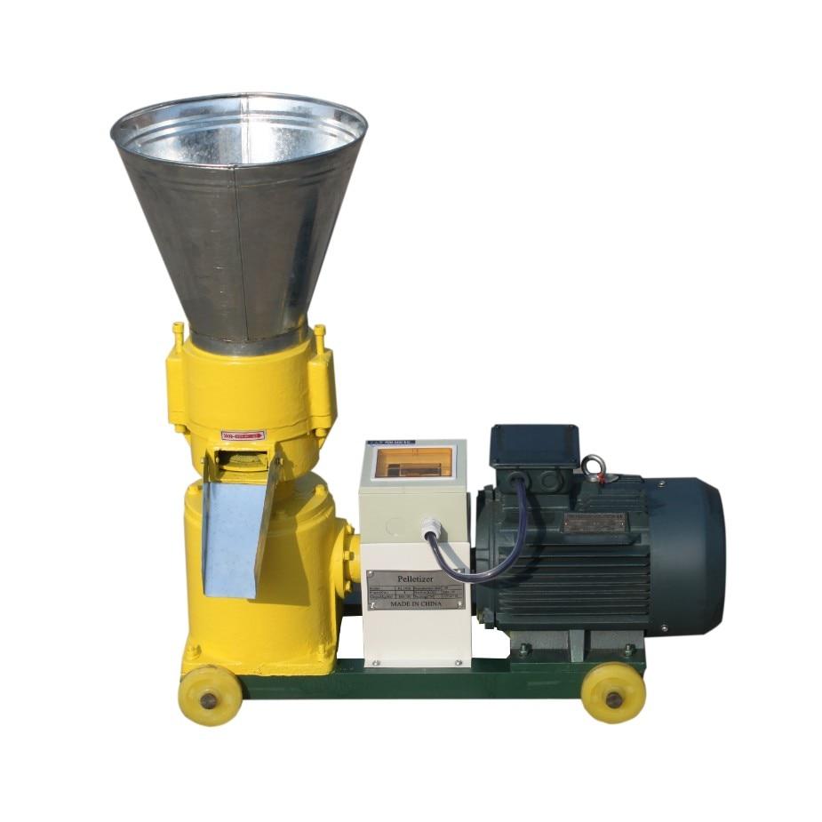 KL120B 2.2 KW Pellet Mill Feed Pellet Mill Wood Pellet Machine With 2.5 Mm And 4 Mm Diameter Matrix