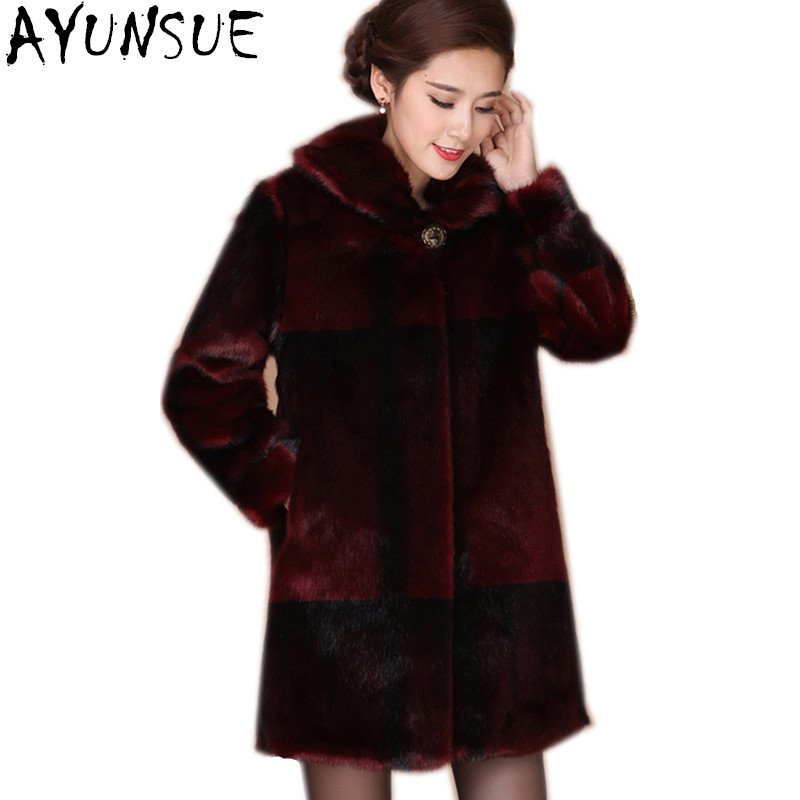 Online Get Cheap Red Fur Coats -Aliexpress.com | Alibaba Group