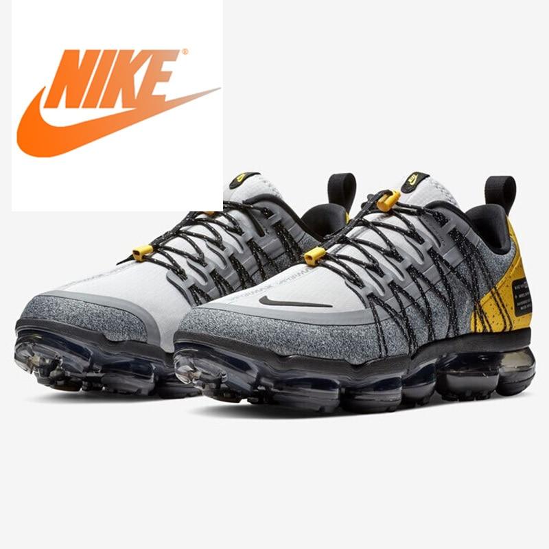 Original Authentic Nike Air Vapormax Run Utility Men's Running Shoes Outdoor Sports Shoes New Comfortable Fashion AQ8810-010