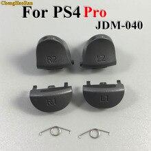 1 set Için Playstations 4 JDS 040 JDM 040 Kontrol Tetik Bahar L1 R1 L2 R2 Parçaları Düğmeler Için PS4 ince/Pro Tetikler Düğmeleri