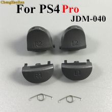 1set For Playstations 4 JDS 040 JDM 040 Controller Trigger Spring L1 R1 L2 R2 Parts Buttons For PS4 slim / Pro Triggers Buttons