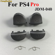 1set For Playstations 4 JDS 040 JDM 040 Controller Trigger Spring L1 R1 L2 R2 Parts Buttons For PS4 slim / Pro Triggers Buttons(China)