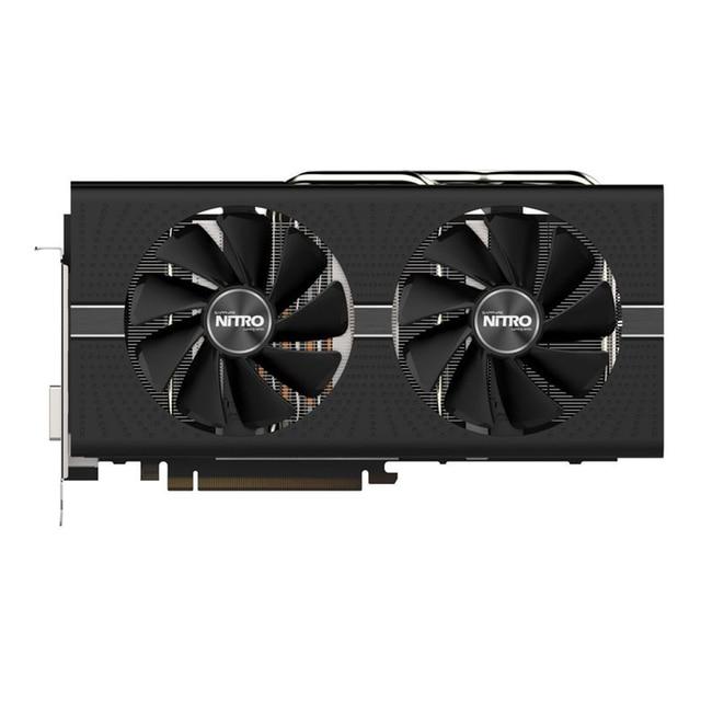SAPPHIRE Graphics card NITRO Radeon RX580 8G  256bit AMD GDDR5 8000MHz 1411MHz DirectX 12 2304units video card for Gaming 3