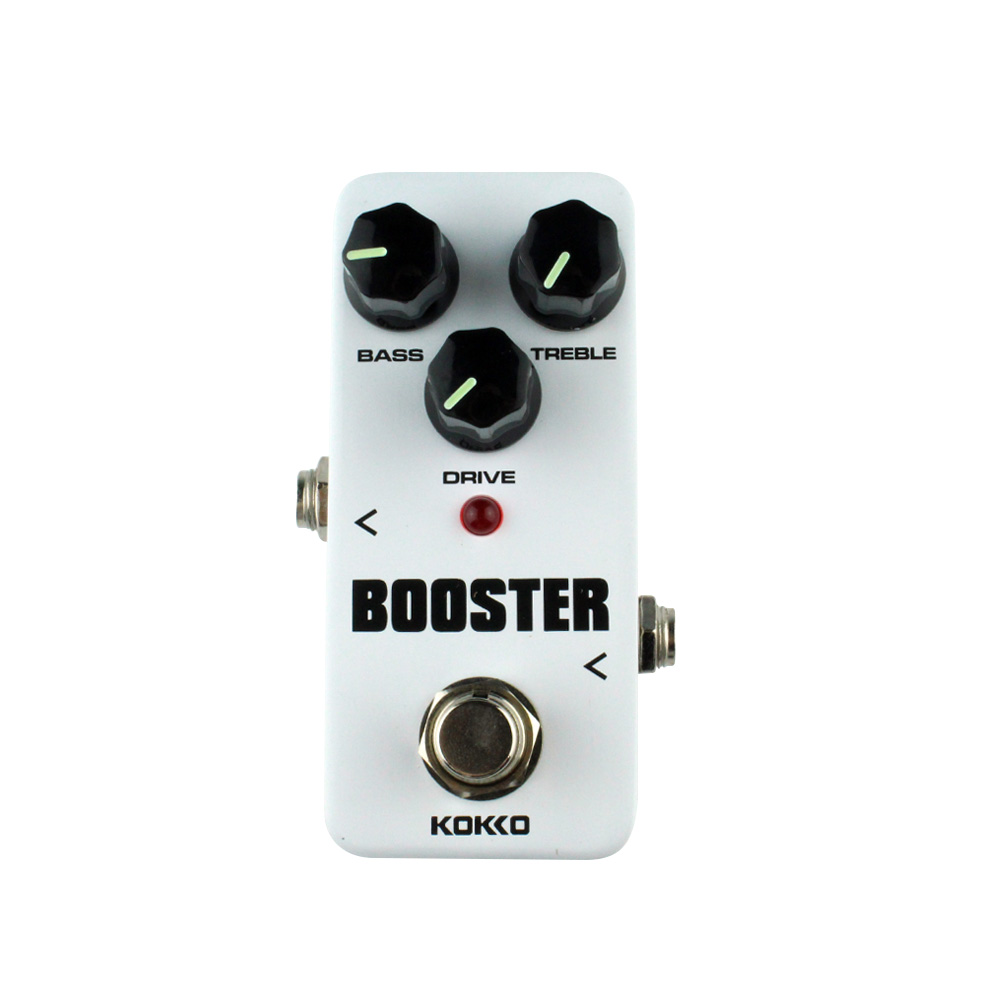 booster overdrive guitar effects mini effect pedal bass drive treble control ture bypass kokko. Black Bedroom Furniture Sets. Home Design Ideas