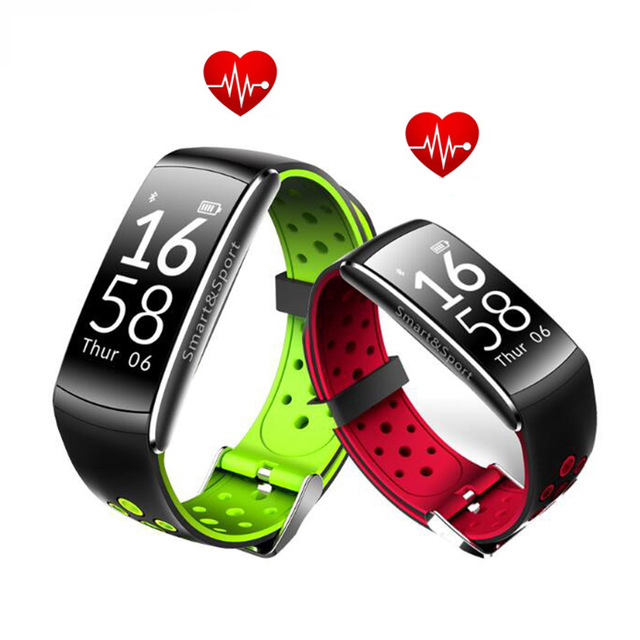 Q8 Smart Bracelet Bluetooth Heart Rate Monitor Fitness Tracker Wristband IP68 Waterproof Monitor Sport Smartband for Android IOS